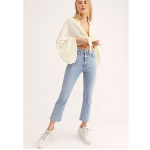 Levi's High Waist Cropped Jeans, New